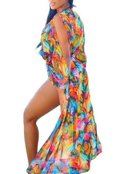 Daisy Floral Romantic Cover Up