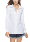Leanna V-Neck Blouse Shirt