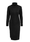 Jayda Elegant Split Sweater Dress