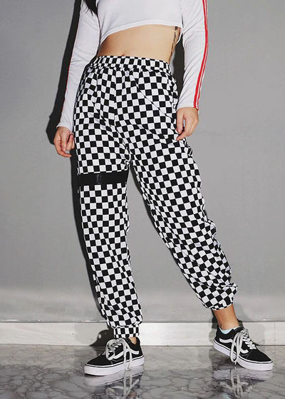 Checkerboard Track Sweatpant