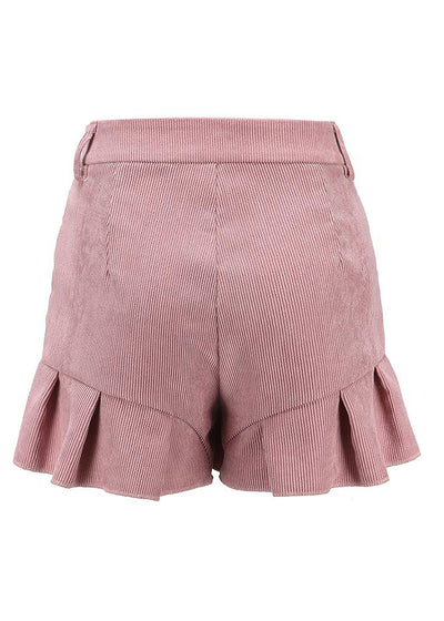 Mishka Ruffled Zipper Streetwear Skirt