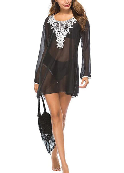 Maryam Sleeve Swim Cover Up