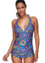 Kennedy Halter Push Up Tankini