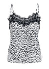Marie Leopard V-Neck Print Top