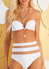 Marleigh Striped Bodycon Swimwear