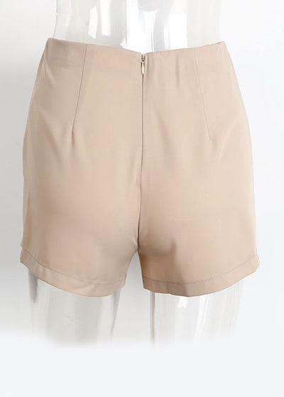 Malika Cross Lace Up Zipper Skirt