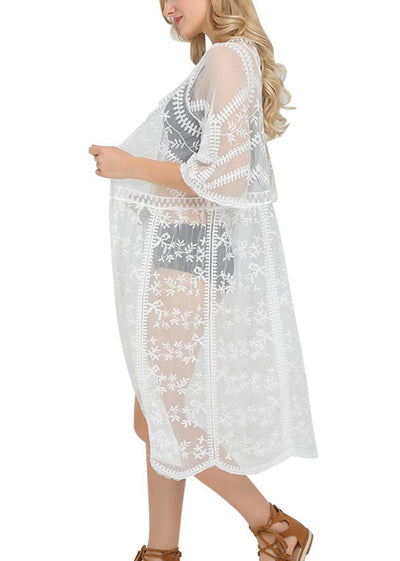 Princess Embroidered Tunic Cover Up