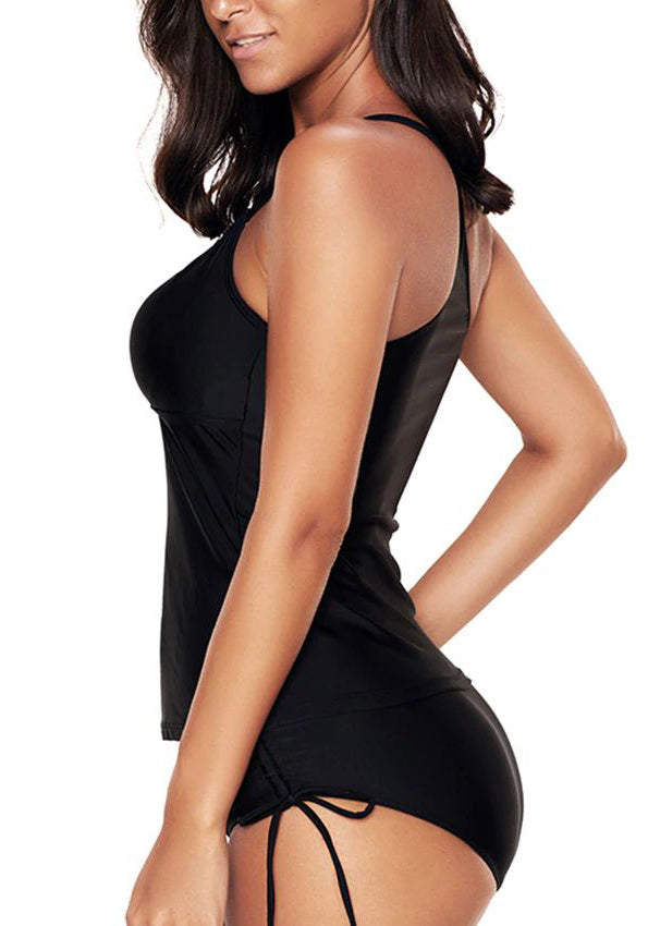 Avery Black Tankini