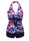 Brooklyn Halter Dotted Tankini