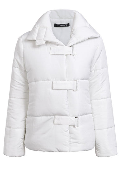 Zaylee Thick Buckle Coat