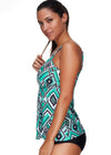 Riley Green Tankini