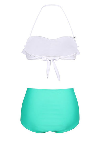 Zoey High Waist Bikini Set