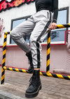 Striped Side Patchwork Sweatpant