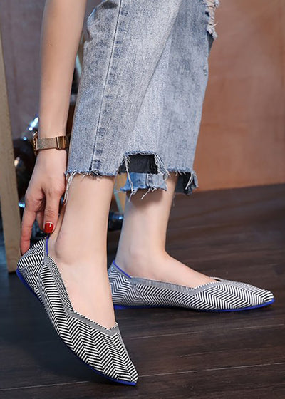 Shallow Pointed Toe Casual Flat Shoes