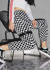 Checkerboard Track Pant Trouser
