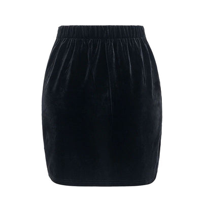 Lexie Vintage Embroidery Short Skirt