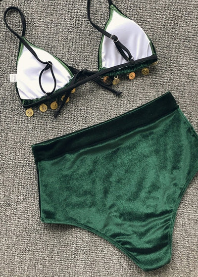 Bellamy Padded Lace Up Swimwear
