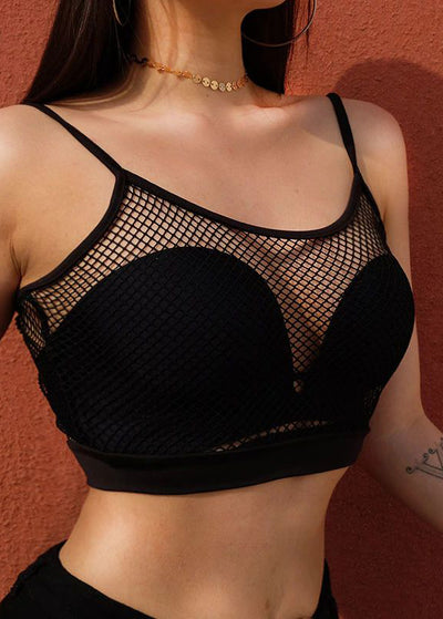 Fishnet Transparent Gothic Tank Top