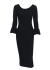 Shiloh Butterfly Bodycon Sweater Dress