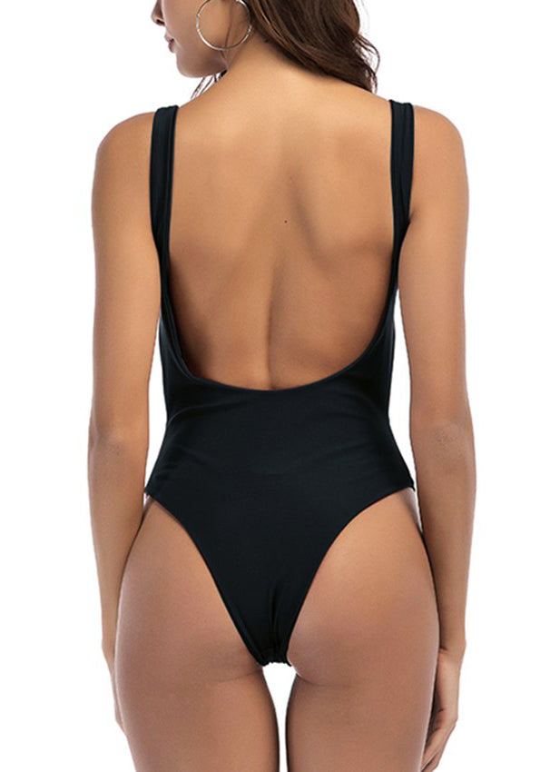 London Solid Swimsuit
