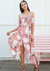 Amira Strapless Split Elastic Long Dress