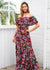 Makenzie Off Shoulder Maxi Long Dress