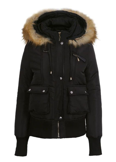 Guadalupe Warm Snow Wear Thick Coat