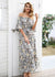 Adelaide High Waist Ruffle Maxi Long Dress