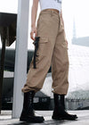 Pocket Side Casual Cargo Sweatpant