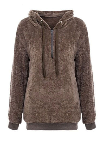 Lylah long sleeve hoodies Jacket