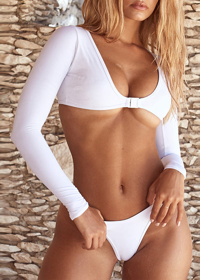 Kaya Padded Long Sleeve Swimwear