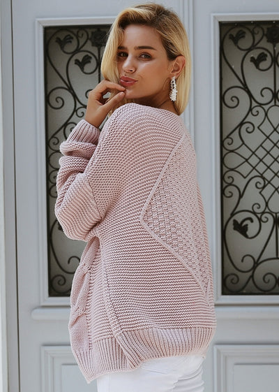Marley Elegant Twist Knitted Cardigan Sweater