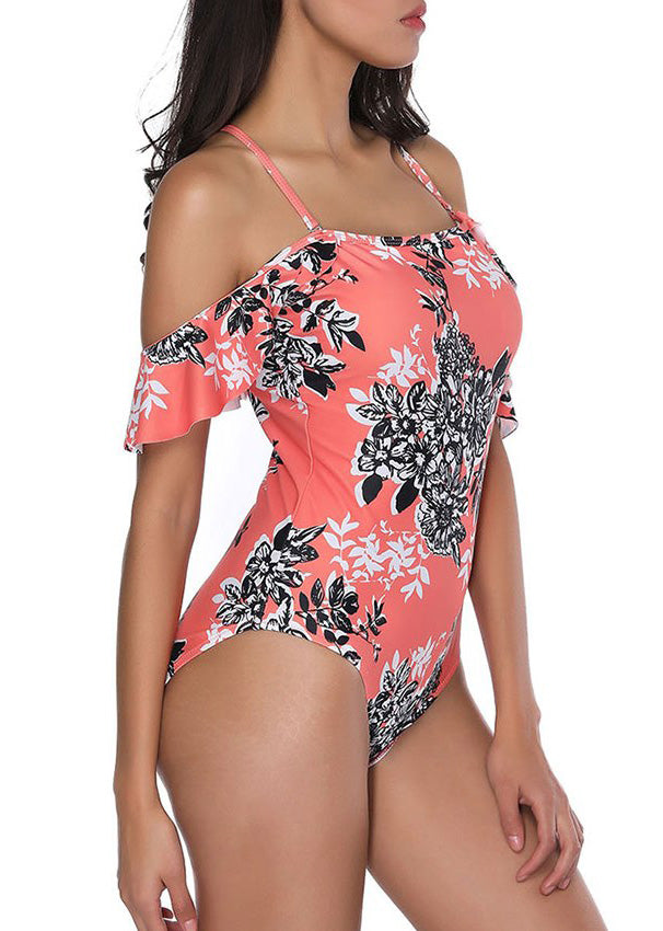 Lilly Off Shoulder Swimsuit