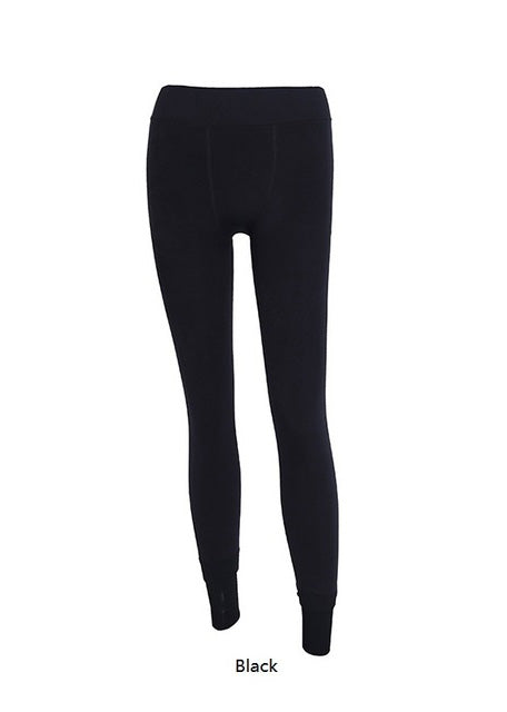 Elastic Fleece Knitted Slim Tights
