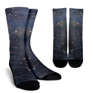 Crew Socks Spiderweb