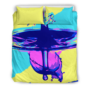 Wonderful drop, bedding set