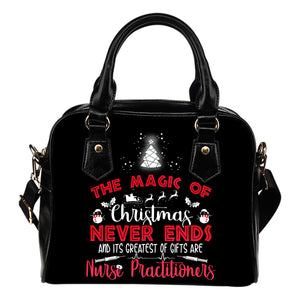 NURSE PRACTITIONERS: THE MAGIC OF CHRISTMAS HANDBAG