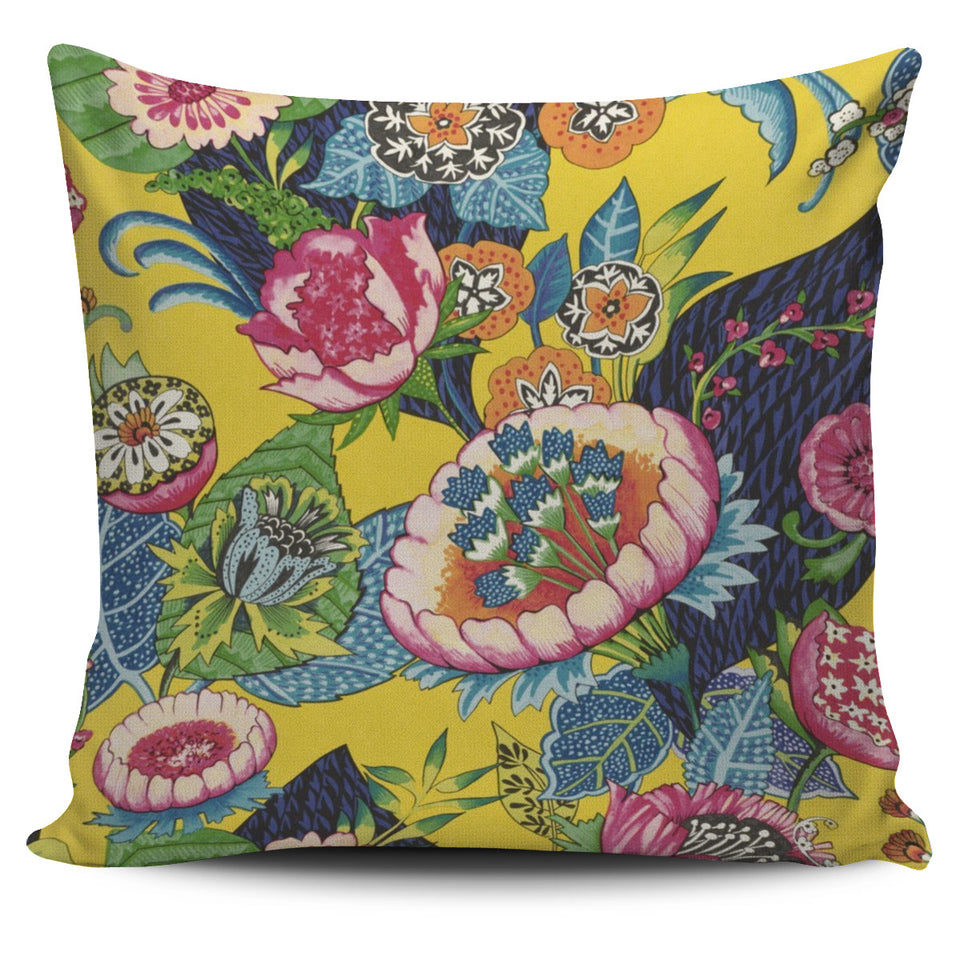 Indian Floral Cushion Cover