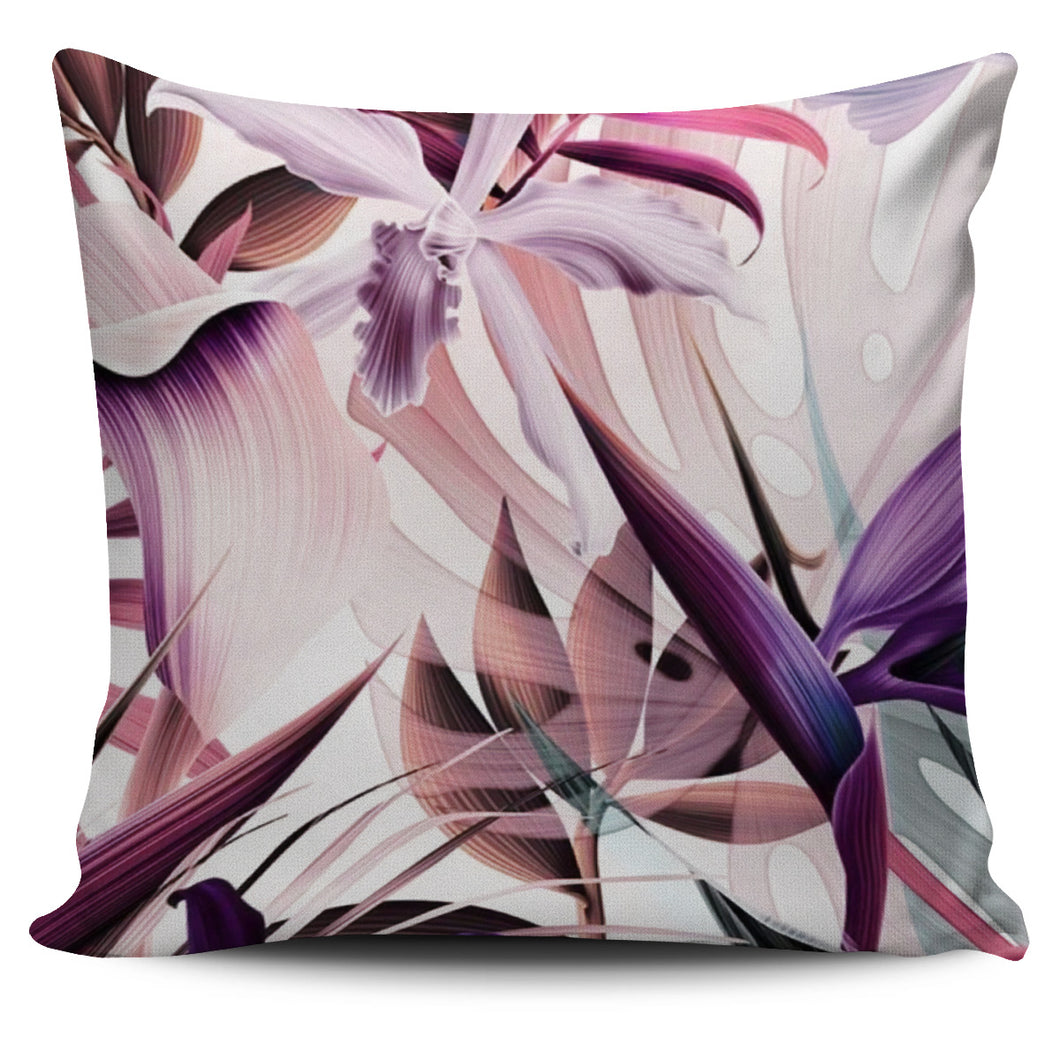 Pink Tropical Cushion Cover
