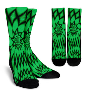 The 4th Dimension Crew Socks