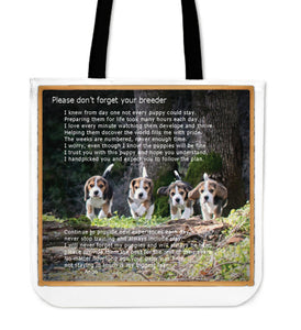 Beagle Breeder Creed