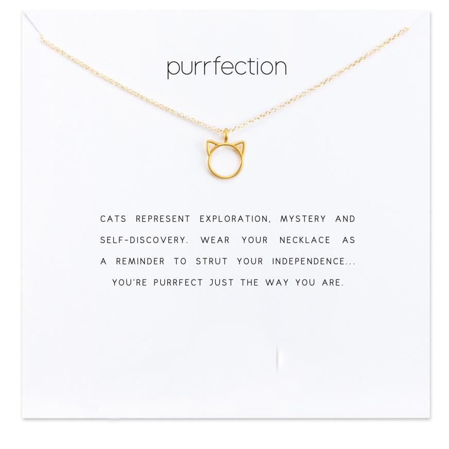 Purrfection Cat Necklace