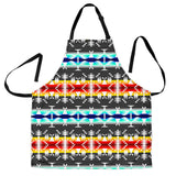 Between the Mountains Gray Men's Apron