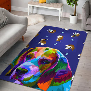 Beagle Dogs Lovers Rug