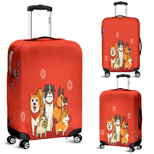 NP I Love Dogs Luggage Cover