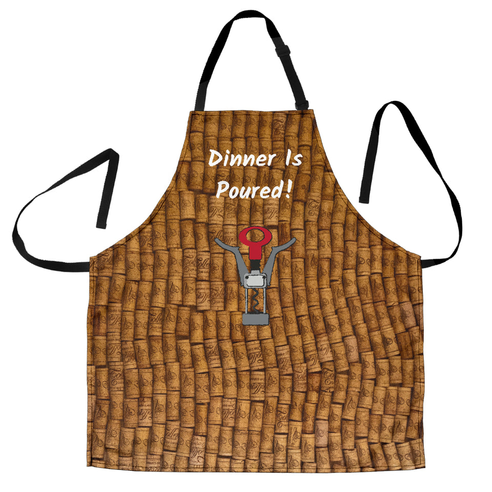 Women's Apron - Dinner Is Poured
