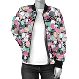 Funky Patterns in Candy - Women's Bomber Jacket