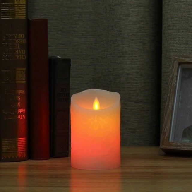 Realistic Dancing Flame LED Candles