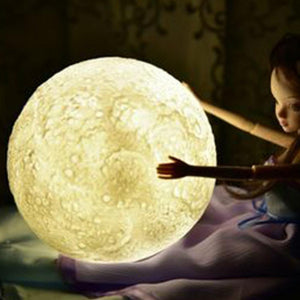 Rigal 3D Print Moon Light Night Lamp