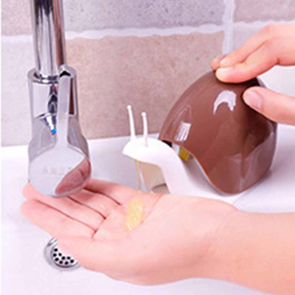 Snail Shape Portable Liquid Soap Dispensers